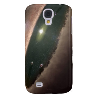 A gap in a protoplanetary, or planet-forming galaxy s4 case