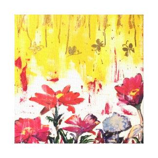A garden affair gallery wrapped canvas