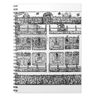 A Garden, from ' The Gardener's Labyrinth', 1577 ( Notebooks