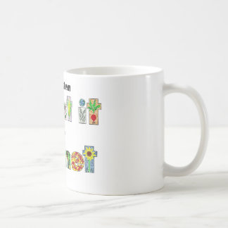 A Garden, Plant it for the Planet, earthday slogan Basic White Mug