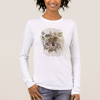 A garden textile design , from 'Oeuvre contenant u Long Sleeve T-Shirt