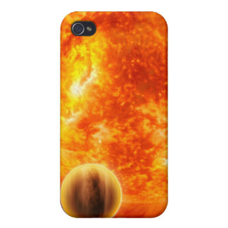 A gas-giant exoplanet iPhone 4/4S cover