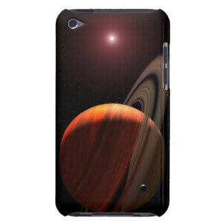 A gas giant planet orbiting a red dwarf barely there iPod covers