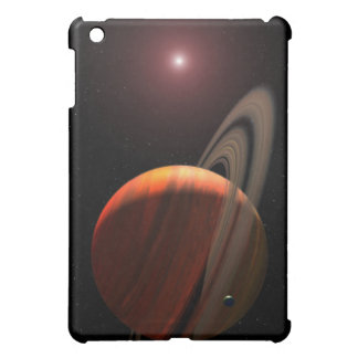 A gas giant planet orbiting a red dwarf iPad mini cases