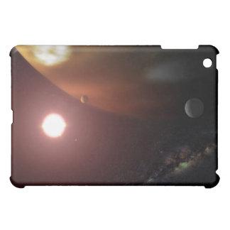 A gas giant planet orbiting a red dwarf star iPad mini case
