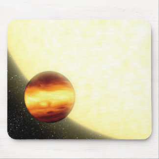 A gas-giant planet orbiting very close mouse mat