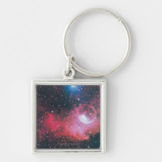A Gaseous Nebula Key Ring