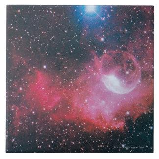 A Gaseous Nebula Large Square Tile
