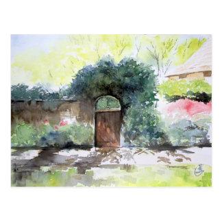 A Gate - Englis House Estate, Ann Arbor MI Postcard