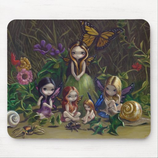 """""""A Gathering of Faeries"""" Mousepad"""