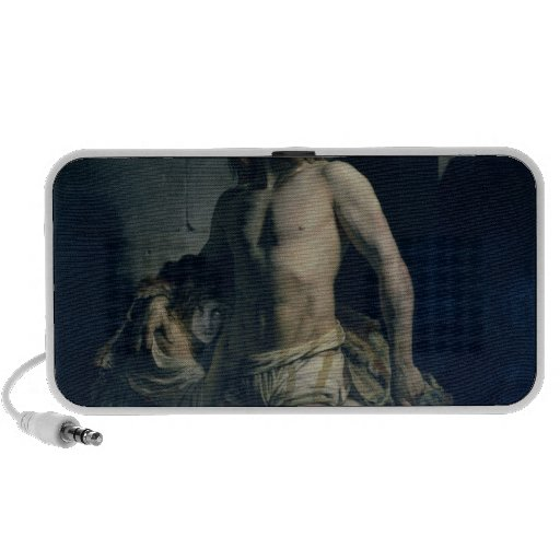 A Gaul and his Daughter Imprisoned in Rome, 1847 Travel Speaker