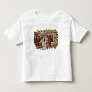 A Geisha being carried in a litter (sepia photo) Toddler T-Shirt