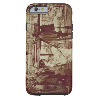 A Geisha being carried in a litter (sepia photo) Tough iPhone 6 Case