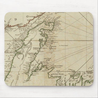 A General Chart Of The Island Of Newfoundland Mouse Mat