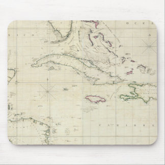 A General Chart of the West Indies Mouse Mat