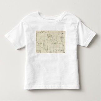 A General Chart of the West Indies Toddler T-Shirt