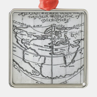 A General Map Christmas Ornament