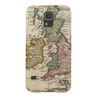 A general map of Great Britain and Ireland Galaxy S5 Covers