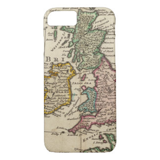 A general map of Great Britain and Ireland iPhone 8/7 Case
