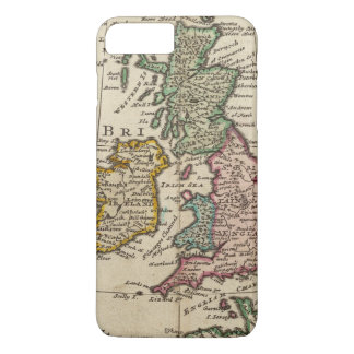 A general map of Great Britain and Ireland iPhone 8 Plus/7 Plus Case