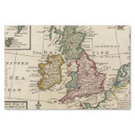 """A general map of Great Britain and Ireland 10"""" X 15"""" Tissue Paper"""