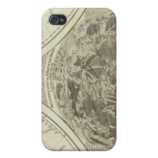 A general map of terraqueous globe or the world iPhone 4 case