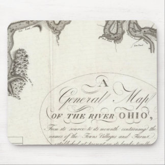 A General Map Of The River Ohio Mouse Mat