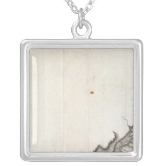 A General Map of the River Ohio, Plate the second Silver Plated Necklace
