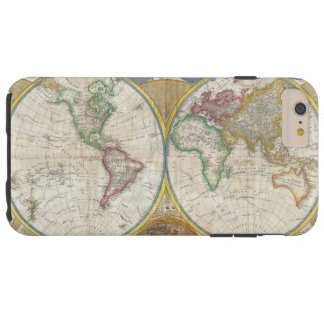 A General Map of the World by Samuel Dunn 1794 Tough iPhone 6 Plus Case