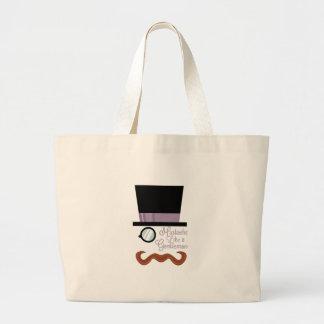 A Gentleman Tote Bags