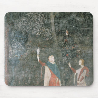 A Gentleman Hawking, from the Stag Room, 1343 Mouse Pad
