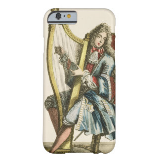 A gentleman playing the harp (engraving) barely there iPhone 6 case