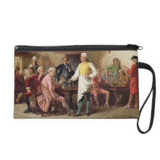 A Gentleman's Debate, 1881 (oil on panel) Wristlet Purses