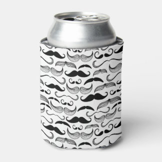 A Gentlemen's Club. Mustache pattern 2 Can Cooler