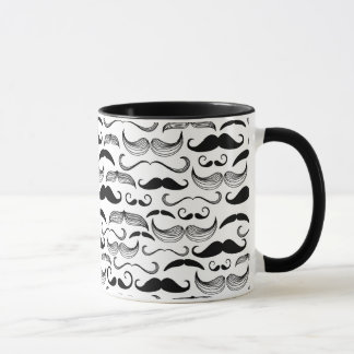 A Gentlemen's Club. Mustache pattern 2 Mug