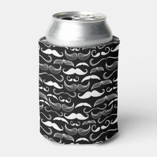 A Gentlemen's Club. Mustache pattern Can Cooler