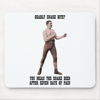 A Genuine Overly Manly Man Mousepad