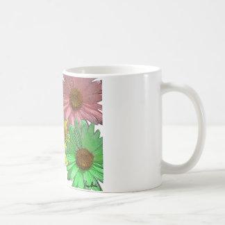A Gerber Daisy Design Mugs