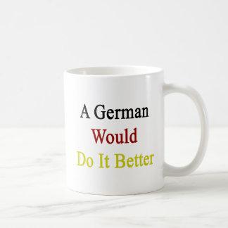 A German Would Do It Better Basic White Mug