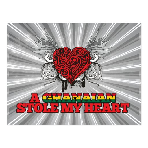 A Ghanaian Stole my Heart Postcards