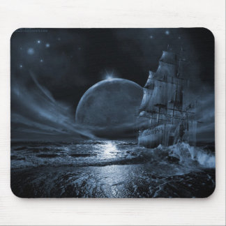 A Ghoastly Voyage Mouse Mat