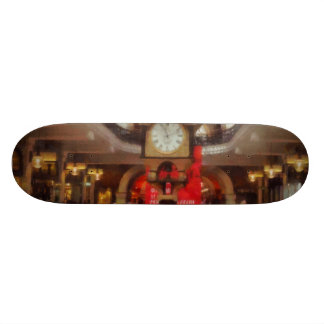A giant open space inside a building custom skateboard