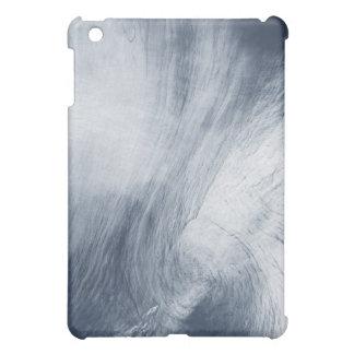 A giant whirlpool cloud swirls above the sea iPad mini cases
