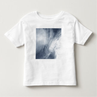 A giant whirlpool cloud swirls above the sea toddler T-Shirt