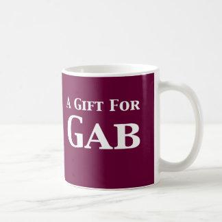 A Gift For Gab Gifts Coffee Mug