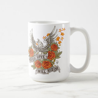 A Gift For Wife With Eagle And Powerful Message Coffee Mug