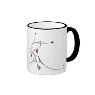 a gift from the heart ringer mug