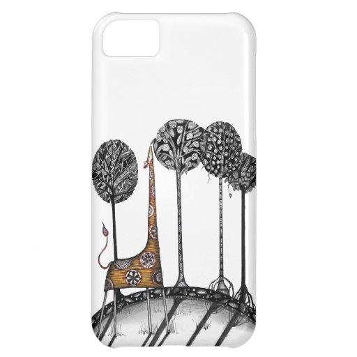 A giraffe named Kennett iPhone 5C Case