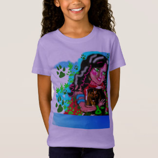 A girl and a lion T-Shirt