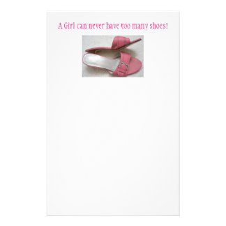 A Girl can never have too many shoes! Stationery